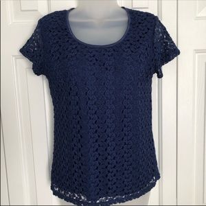 2 for $13! Dressbarn Lace Top